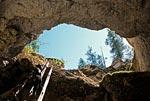 Россия, Архангельская область, Пинежский заповедник, пещера голубинский провал