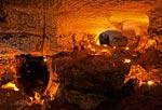 В пещере Голубинский провал