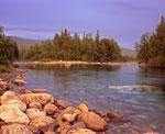 Вечер на реке Парнук