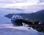 Озеро Собачье. Пристань у кордона заповедника.