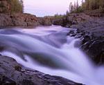 Водопад на реке Эдынгде