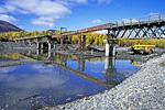 Россия, Якутия, мост через реку Аллах-Юнь