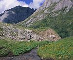 В истоках реки Большой Агул