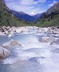 Окрестности горнолыжной базы Цей. Река Цеядон.