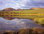 Озеро душевного равновесия в долине реки Лабынкыр, выше озера Лабынкыр.