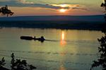 Река Лена – водная и транспортная артерия Сибири.